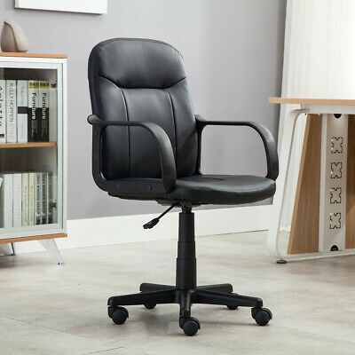 New Modern Office Executive Chair PU Leather Computer Desk T