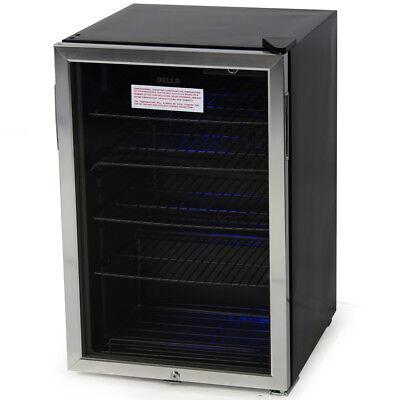 Beverage Mini Refrigerator Wine Soda Beer Water Drinks Bar Cooler Fridge Stand