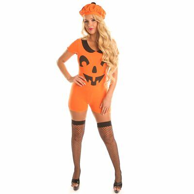 Pretty Pumpkin Costume for Teen Girl Women Halloween Party Cospaly Suits - Teens Halloween Costumes