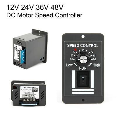 12v 24v 36v 48v Pwm Dc Brush Motor Speed Controller Reversible Switch Regulator