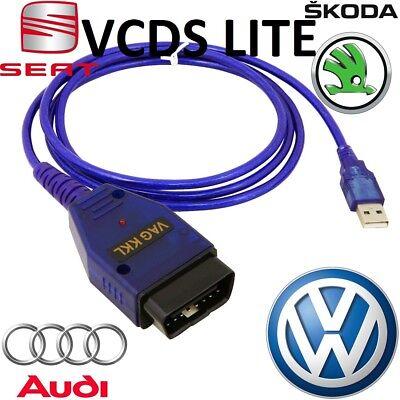 Vw Audi Vcds Lite Volkswagen Obd2 Usb Car Code Scanner Diagnostic Tool Interface