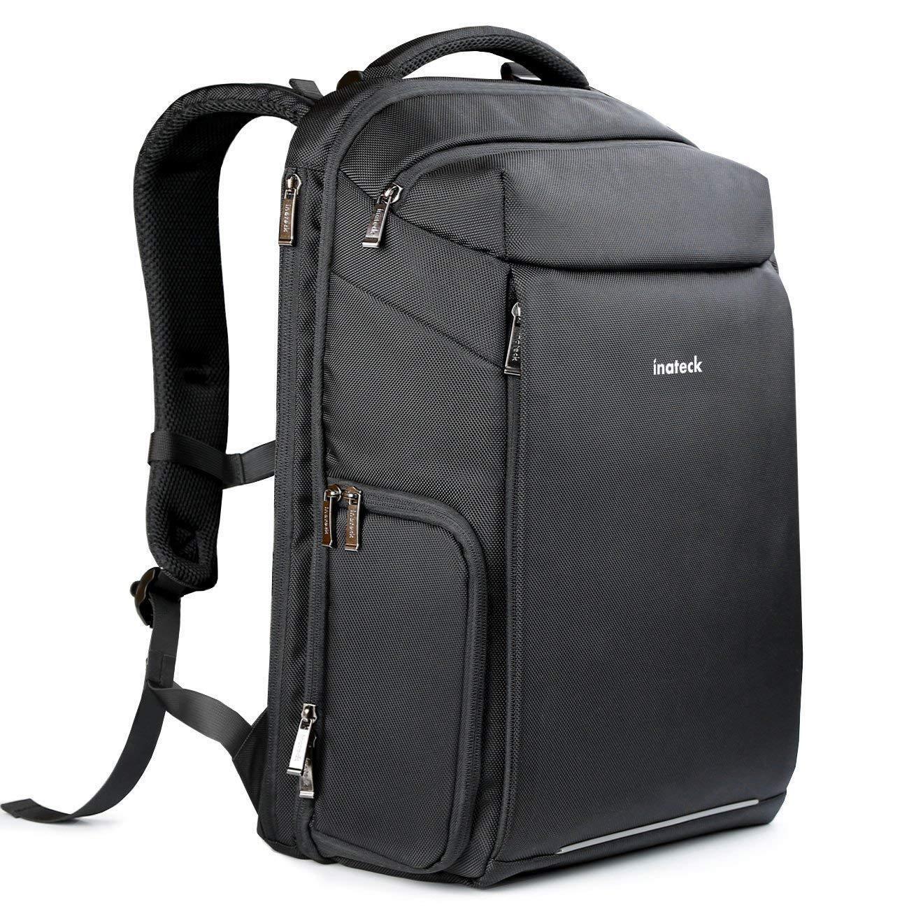 Inateck DSLR Kamera-Rucksack mit Laptop-Fach,Reiserucksack 15-15,6 Zoll Laptops