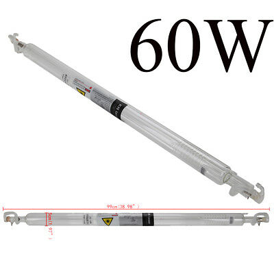 60w 1000mm Co2 Laser Tube For Co2 Laser Engraver Cutting Machine