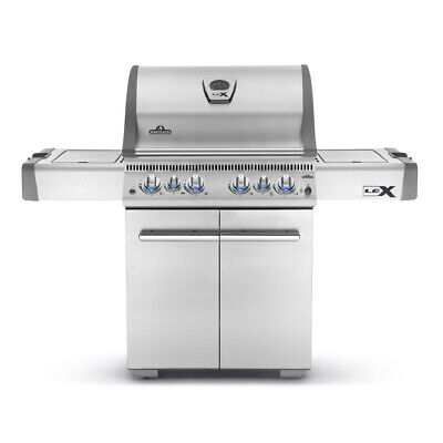 Napoleon LEX 485 74,000 BTU Propane Gas Grill w/ Infrared Side and Rear Burners (Napoleon Grill Side Burners)
