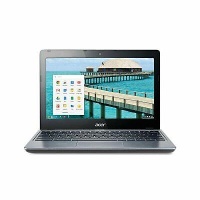 Acer C720-2103 11.6 in chromebook, Intel Celeron 1.4GHz 2GB Ram   16GB SSD
