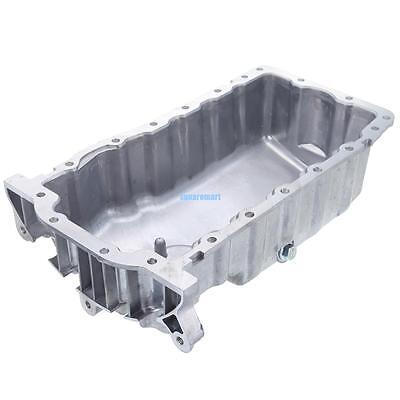 Aluminum Engine Oil Pan For VW Beetle Jetta Golf 2.0L 1.9L 038103601NA