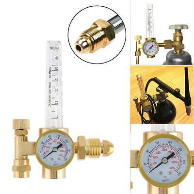 Argon Co2 Flow Meter Regulator Mig Tig Flowmeter Welding Gauge Gas Welder Hose