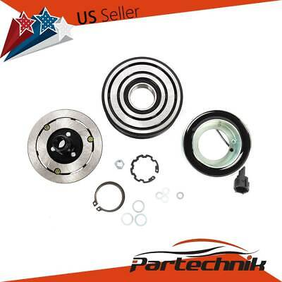 A/C AC Compressor Clutch Assembly Repair Kit for Nissan Tiida Versa 2007-2015