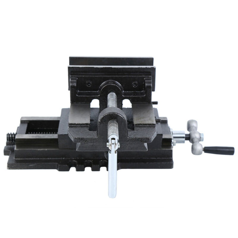 """5"""" Drill Press Vise Slide Way Clamp Heavy"""
