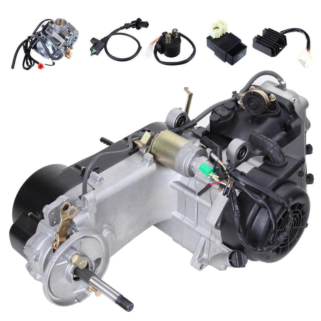 150CC Scooter ATV Go Kart Motor GY6 4 Stroke Engine Air ...