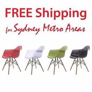 SALE - Eames Style DAW / DAR Dining Chair (set of 4) Zetland Inner Sydney Preview