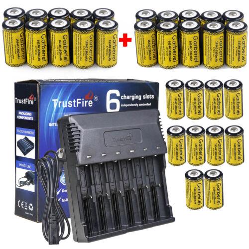 30x CR123A 16340 Battery Rechargeable Batteries for Netgear