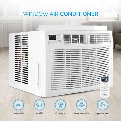 DELLA 10,000 BTU Window Air Conditioner Room Up to 450 Sq Fe