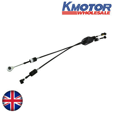 2.2 TDCI Gear Selector Linkage Cable Set Fits Ford Transit 2006-2014