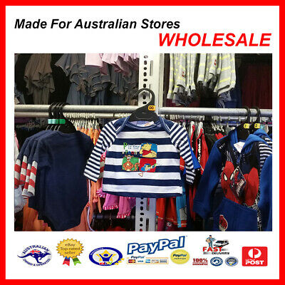 AUS WHOLESALE BABY KIDS CLOTHING Pooh Bear & Tigger Top  MYER STOCK *From (Myer Kids Clothing)
