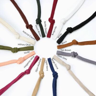 Sweatshirt Hoodie Baumwollschnur Kordelzug, Großhandel 25 & 50mts, 10 & 15mm