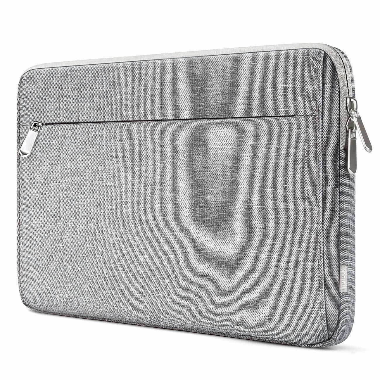 Inateck 12,3-13 Zoll Laptop-Hülle, stoßfeste Schutzhülle kompatibel mit MacBook
