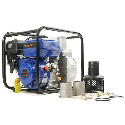 NEW 3'' Portable 6.5 HP Gas Power Water Trash Pump EPA Transfer 4-Stroke 264GPM