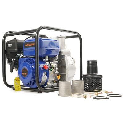 New 3 Portable 6.5 Hp Gas Power Water Trash Pump Epa Transfer 4-stroke 264gpm
