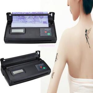 USB Tattoo Transfer Machine Flash Thermal Copier Printer 10 Bonus Stencil Paper