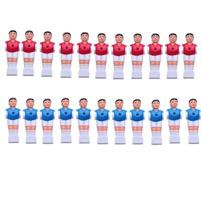 22 PCS Red & Blue Foosball Men Table Soccer player for sale  Fremont