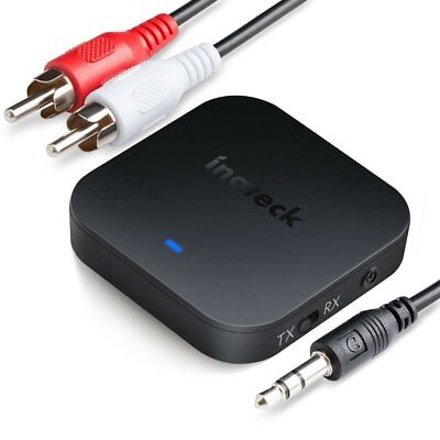 Inateck aptX HD,aptX Latency and aptX Bluetooth Transmitter and Receiver,BR1006.