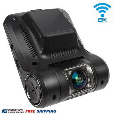 UOKOO Car Dash Cam Built-In WiFi w/ G-Sensor Loop Recording & Parking Mode etc