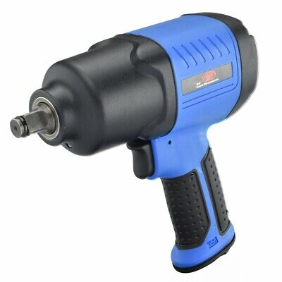 Composite Air Impact Wrench Twin Hammer 12 Inch Lightweight 450lb Torque