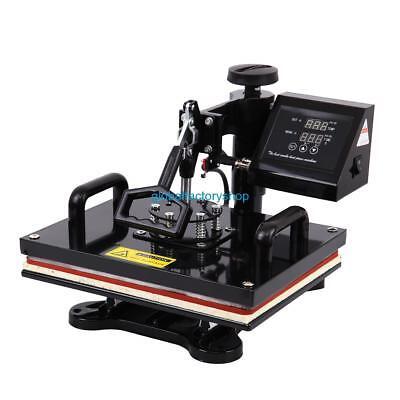 Used 8in1 Heat Press Transfer Digital Machine Sublimation Mug Plate Cap Printer