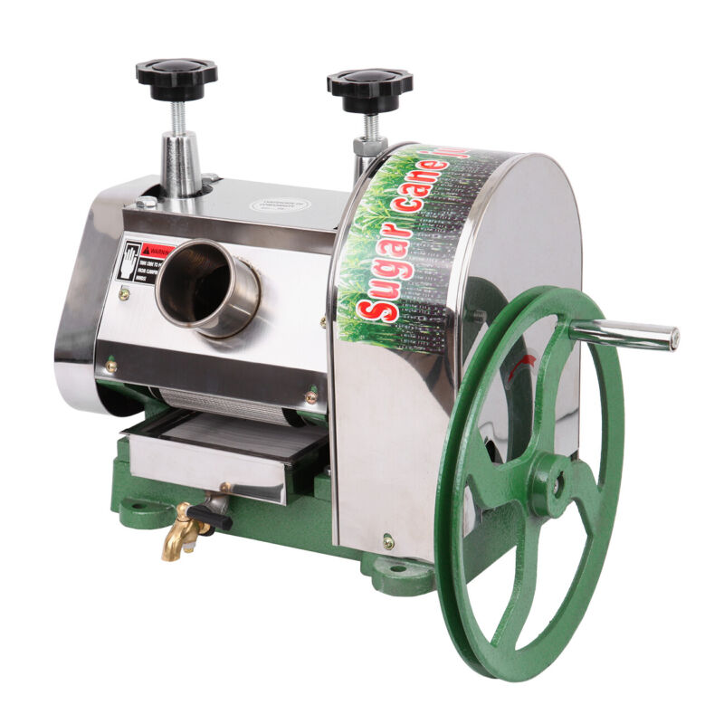50kg/h Manual Sugar Cane Press Juicer Juice Machine Commerci