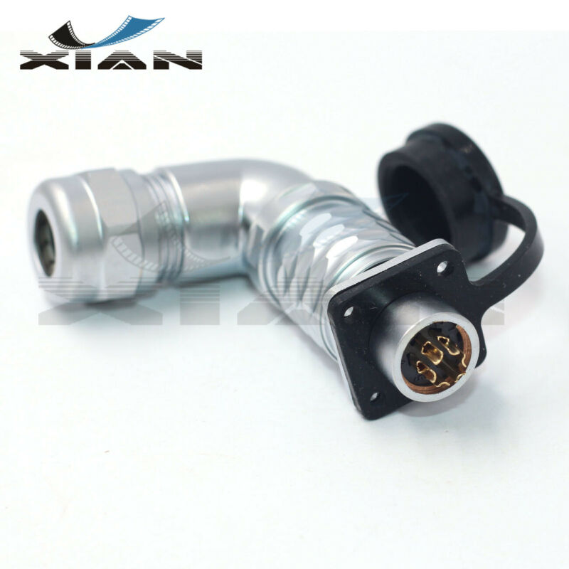 WEIPU 12mm 6Pin Cable Connector,Industrial automation equipment  Power connector