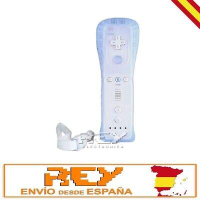Mando Remote + Funda Silicona + Correa para Wii BLANCO Entrega 48/72h...