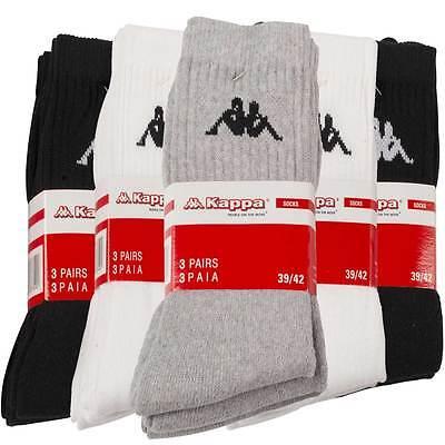 Kappa 3 bis 18 Paar Sportsocken Tennissocken Arbeitssocken Freizeitsocken Socken