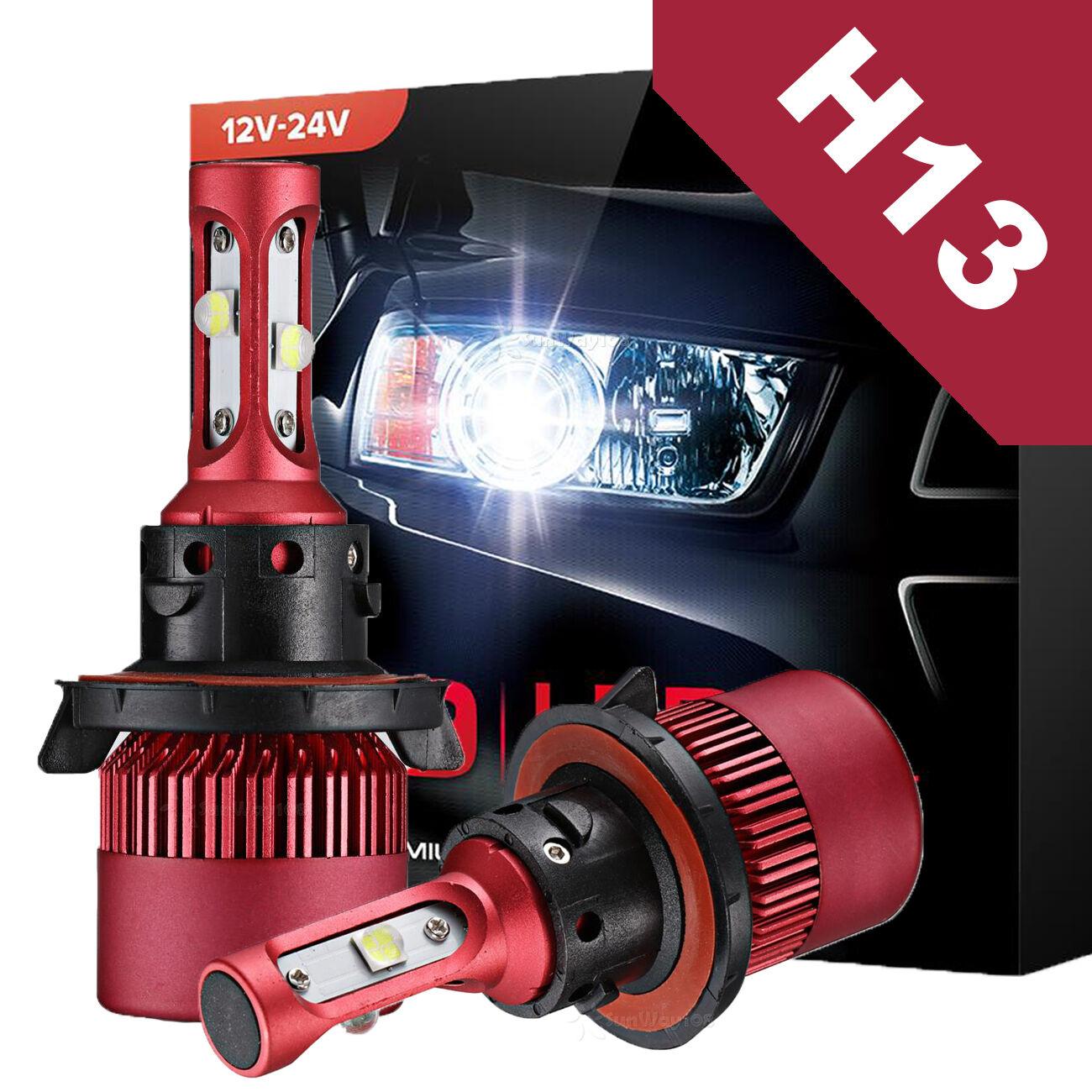 CREE H13 9008 Car LED Headlight Kit Light Hi/Lo Beam 6000K 1020W 153000LM Bulbs