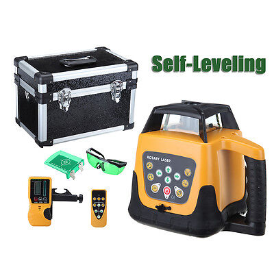500m Green Full Automatic Laser Level Rotary Rotating Self Leveling Ip54