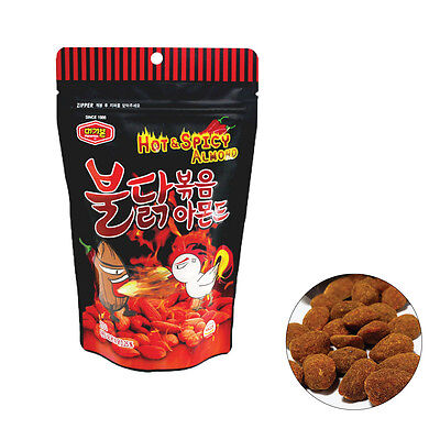 KOREAN snack spicy chicken flavor almond BULDAKBOKEUM Almond 210g