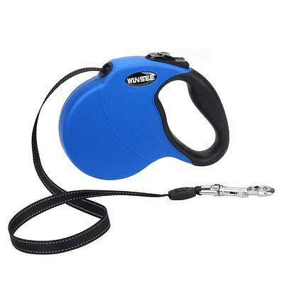 Best Heavy Duty Retractable Dog Pet Leash Cord, Up to 110lbs, 16 FT FAST SHIP!!!