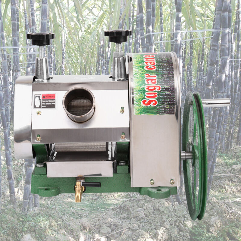 Manual Sugar Cane Press Juicer Juice Machine Commercial Extr