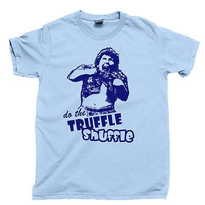 CHUNK TRUFFLE SHUFFLE T Shirt The Goonies Mouth Data Pirate Skull Goon Docks Tee ()