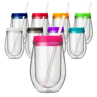 Bev2Go Stemless Acrylic Wine Tumbler - Blank Tumbler Ready For Personalizing!](Personalized Acrylic Tumblers)