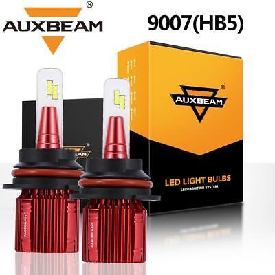 AUXBEAM A2 SERIES 9007 HB5 50W LED headlight Kit High Low Beams 6500K Bulbs HID