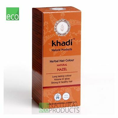 Khadi Herbal  Hair Colour Natural Hazel 100g