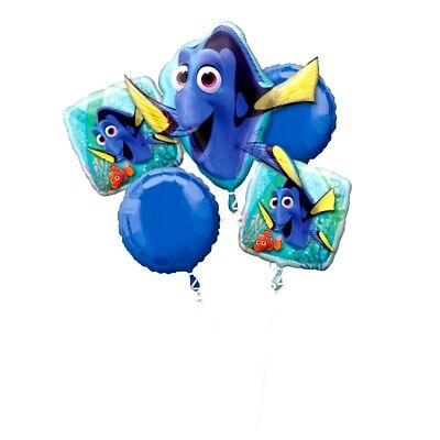 Anagram FINDING DORY Foil Balloon Bouquet 5 Balloons](Anagram Balloons)
