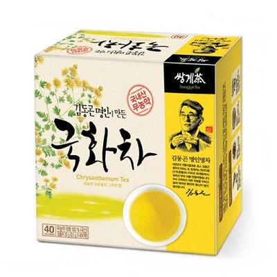 Korea Chrysanthemum Tea 40 Tea bags Korean Health Natural Tea Traditional Tea