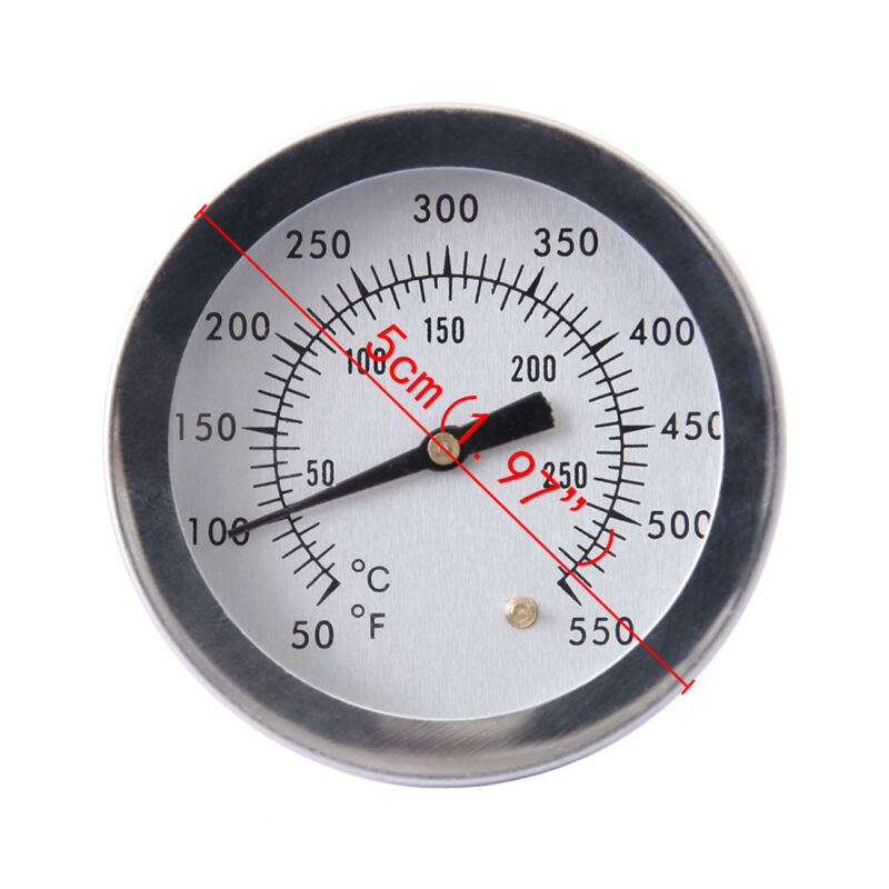 0-300℃ Barbecue Smoker Grill Thermometer Temperature Gauge