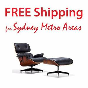 Clearance SALE - Eames Style Lounge Set - Leatherette Zetland Inner Sydney Preview