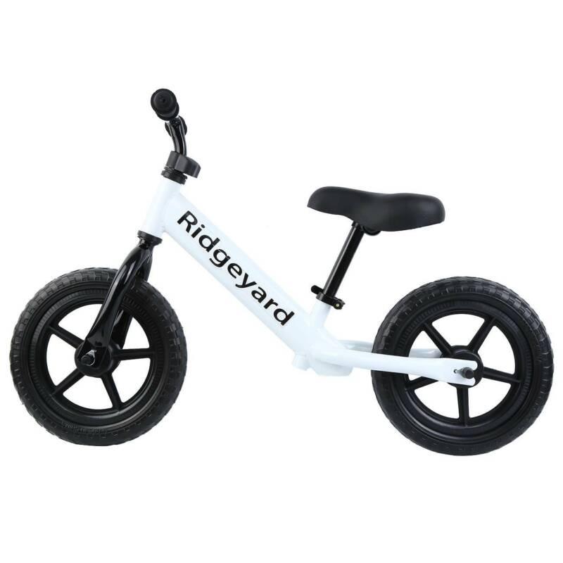 """Unisex Children Pre Bike 12"""" Adjustable"""