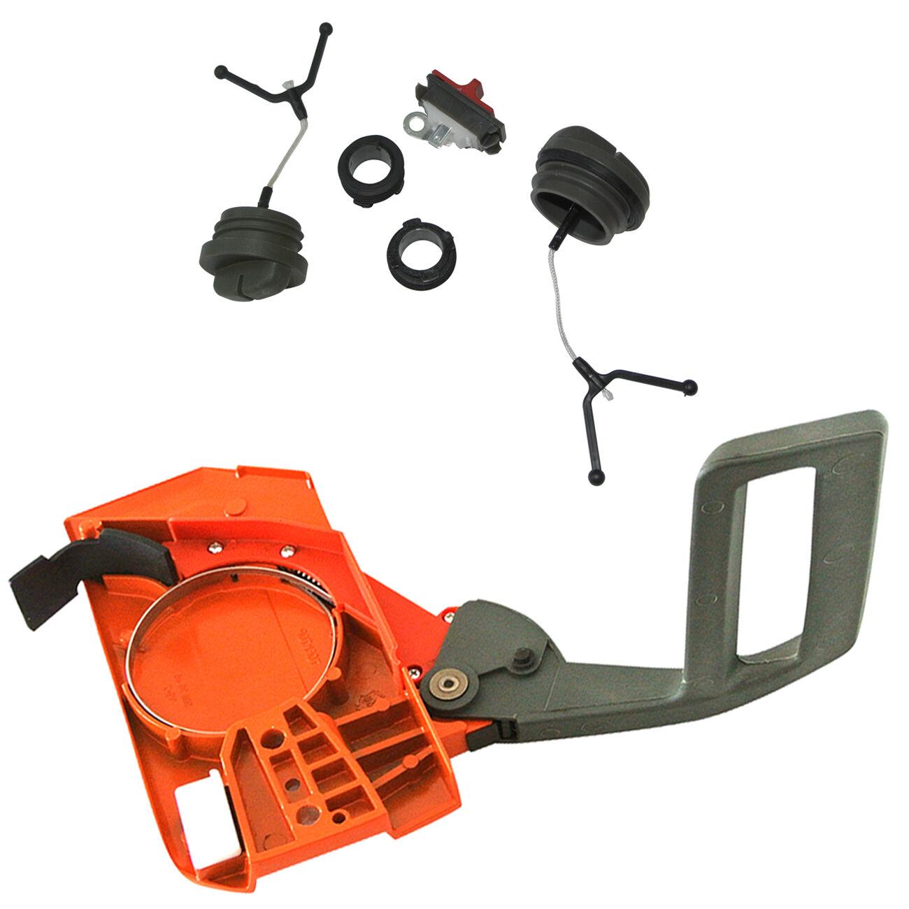 JRL Starter Cover Fits Husqvarna 136 137 141 142 Chainsaw Parts Orange
