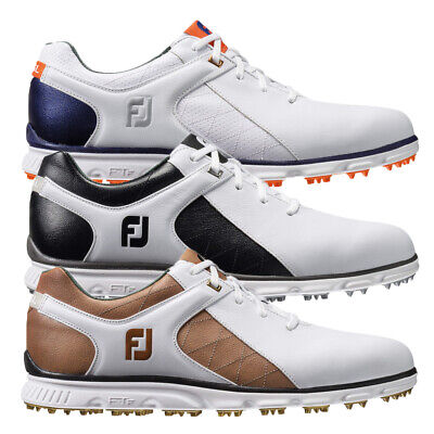 FootJoy Pro SL Spikeless Waterproof Leather Golf Shoes Mens