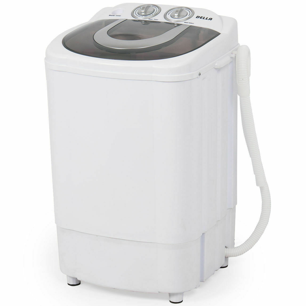 Mini Portable Washing Machine Spin Wash 8.8Lbs Capacity Comp